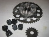 Front and Rear Sprocket